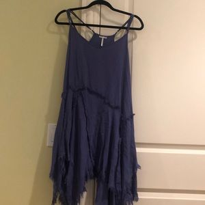 Free People Purple Trapeze Dress